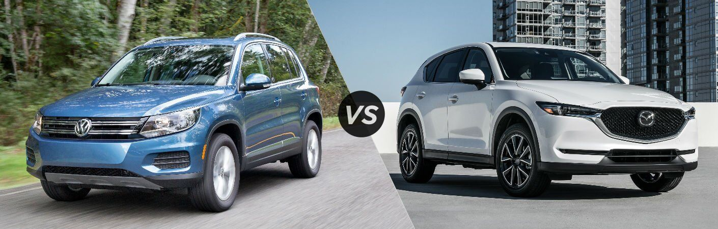 2017 VW Tiguan vs. 2017 Mazda CX-5