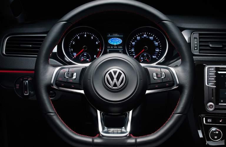 2017 volkwagen jetta leather steering wheel