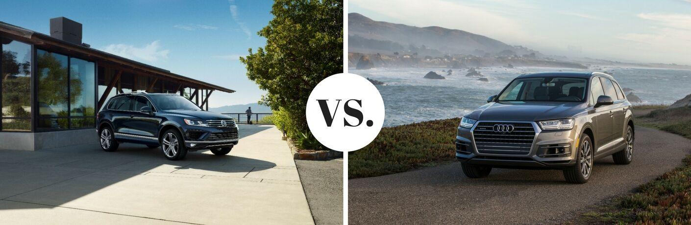 2017 VW Touareg vs 2017 Audi Q7