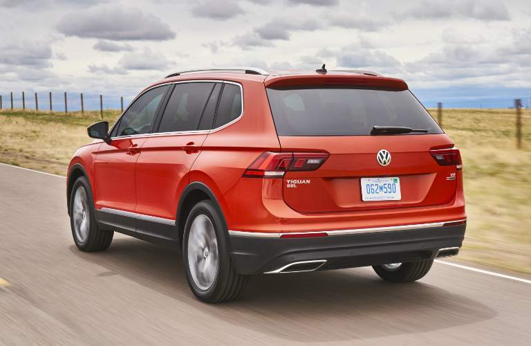 2018 Volkswagen Tiguan Orange Exterior