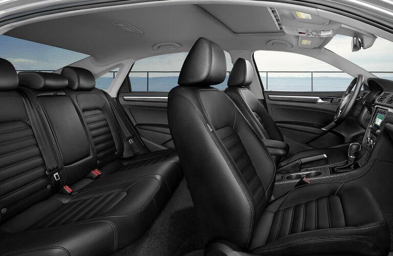 Black Seats in 2019 Volkswagen Passat
