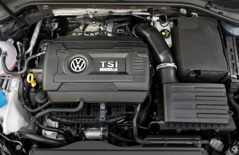 Turbocharged TSI engine in 2019 Volkswagen Golf R