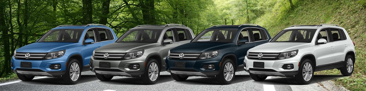 Test Out the 2017 Volkswagen Tiguan Trims at Pacific Volkswagen