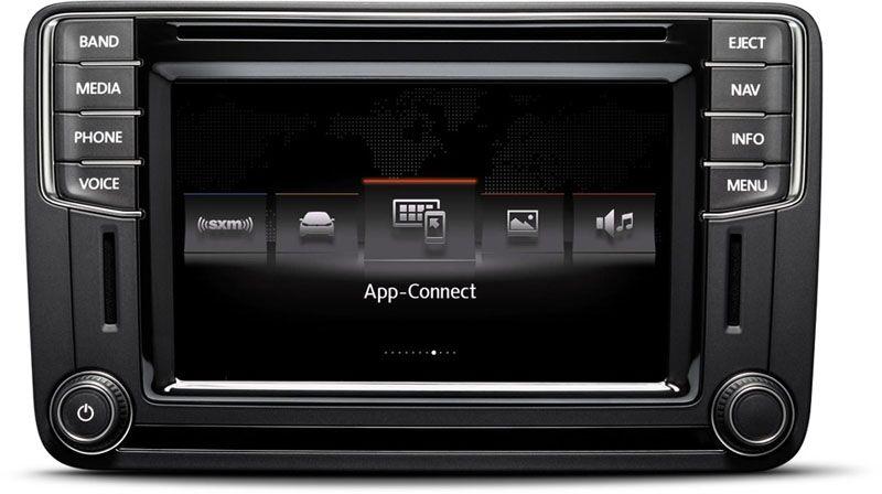 2016 VW Jetta AppConnect