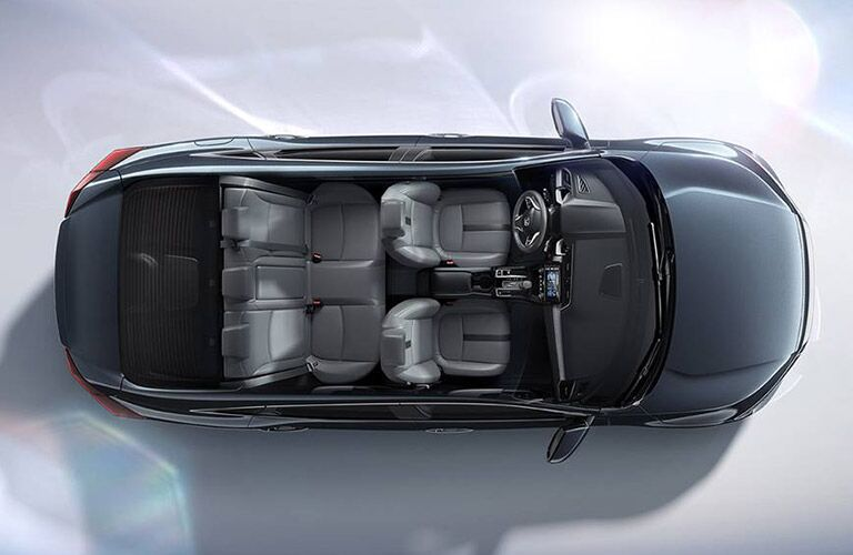 2016 Honda Accord LX has seating for up to five