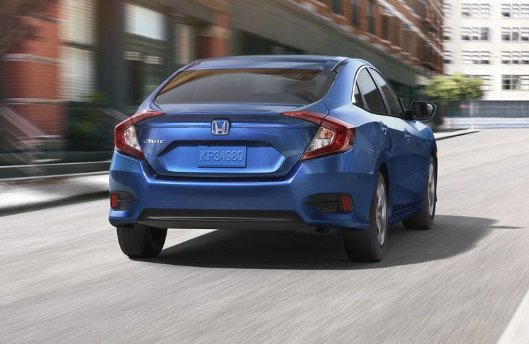 Fully redesigned 2016 Honda Civic downtown