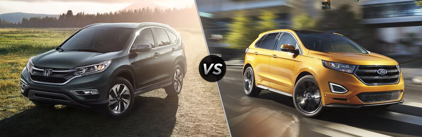 2016 honda cr v vs 2016 ford edge