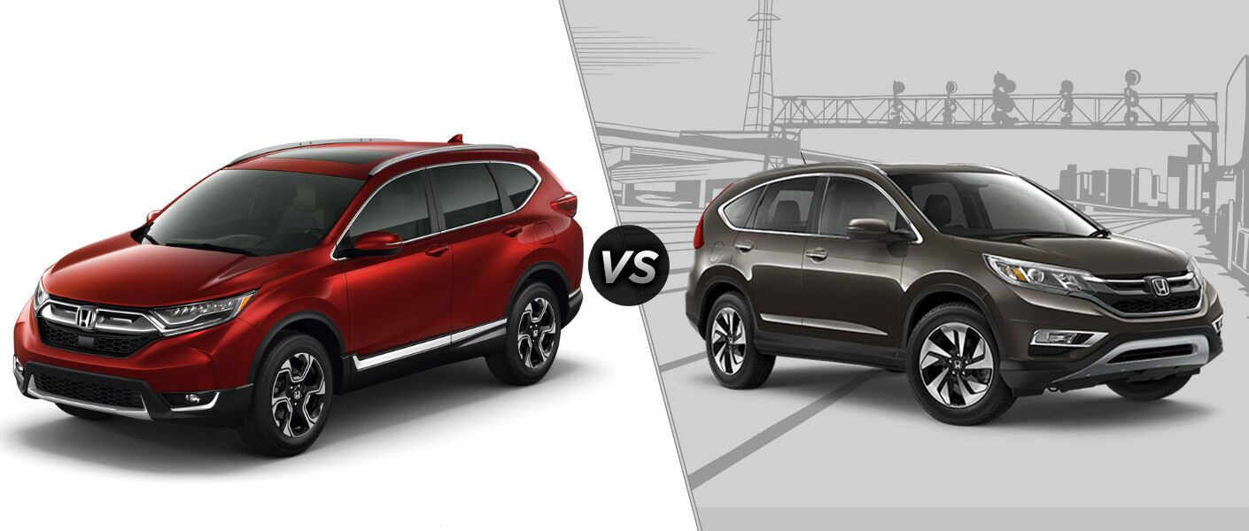 2017 honda cr v vs 2016 honda cr v