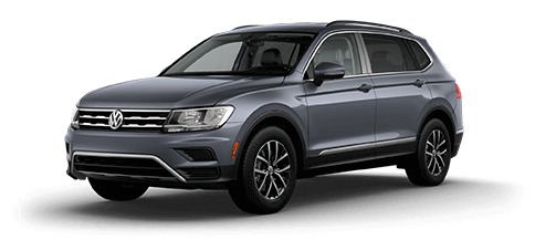 2018 Volkswagen Tiguan SE with 4Motion