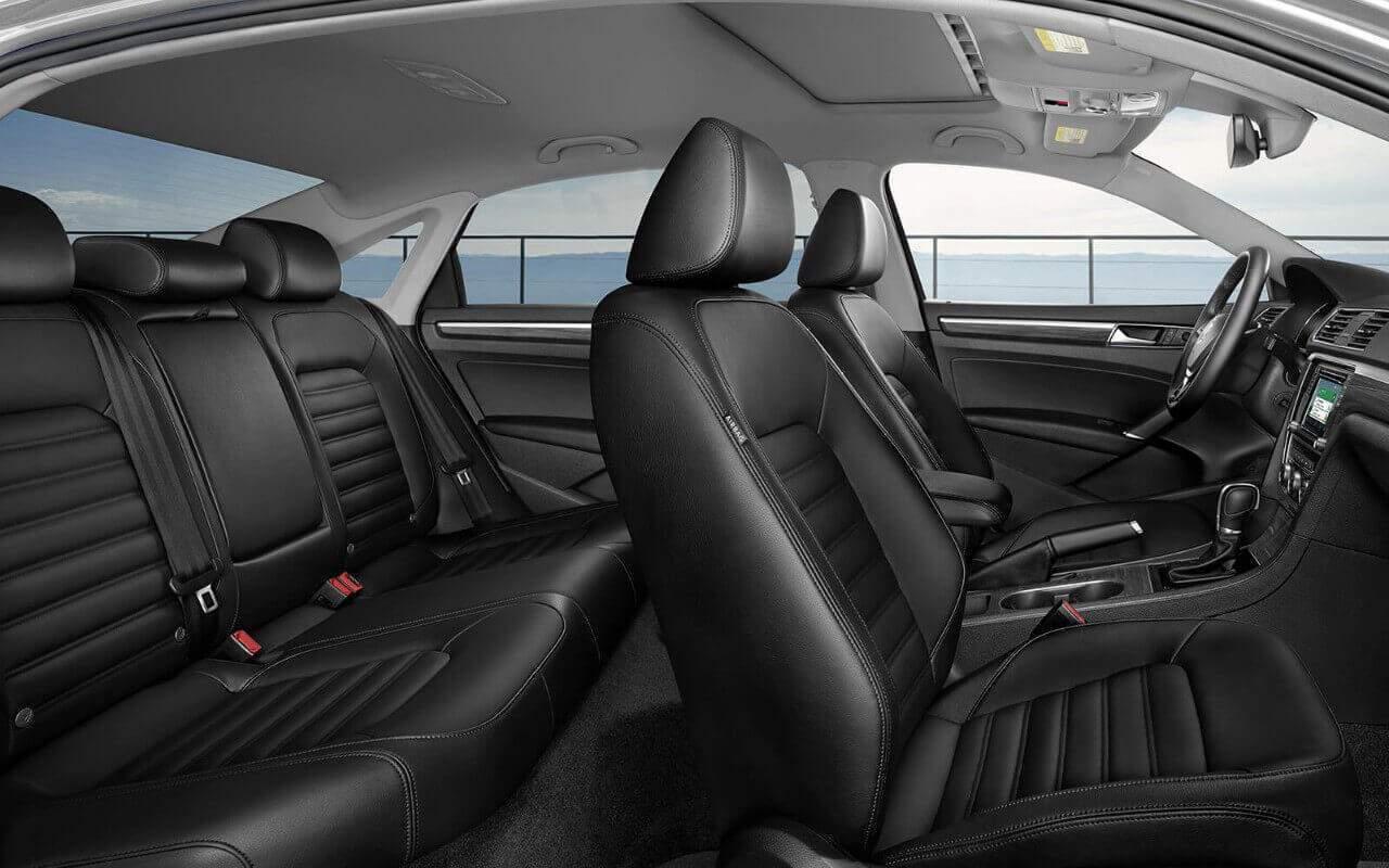 2018 Volkswagen Passat Interior Capacity