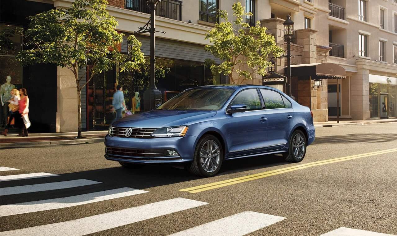2018 VW Jetta SEL in Blue Metallic