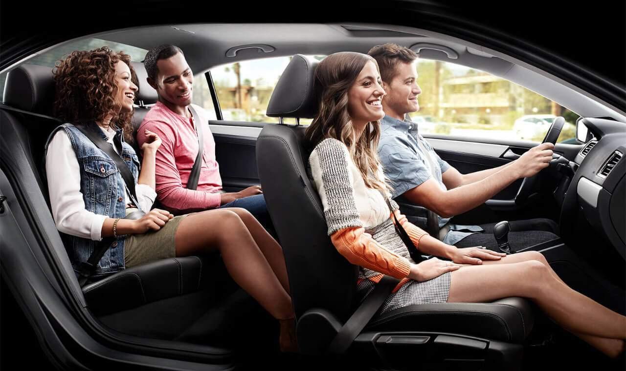 2018 VW Jetta interior cabin