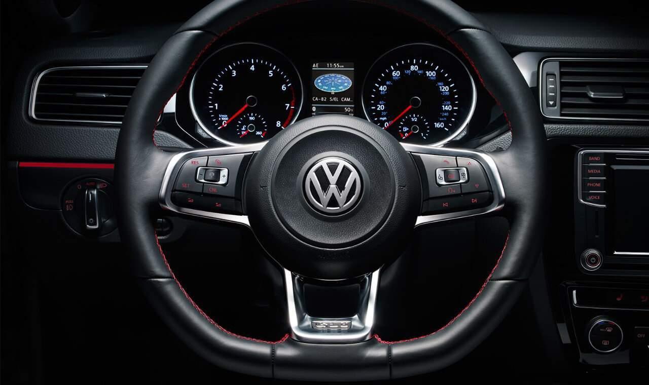2018 VW Jetta steering wheel