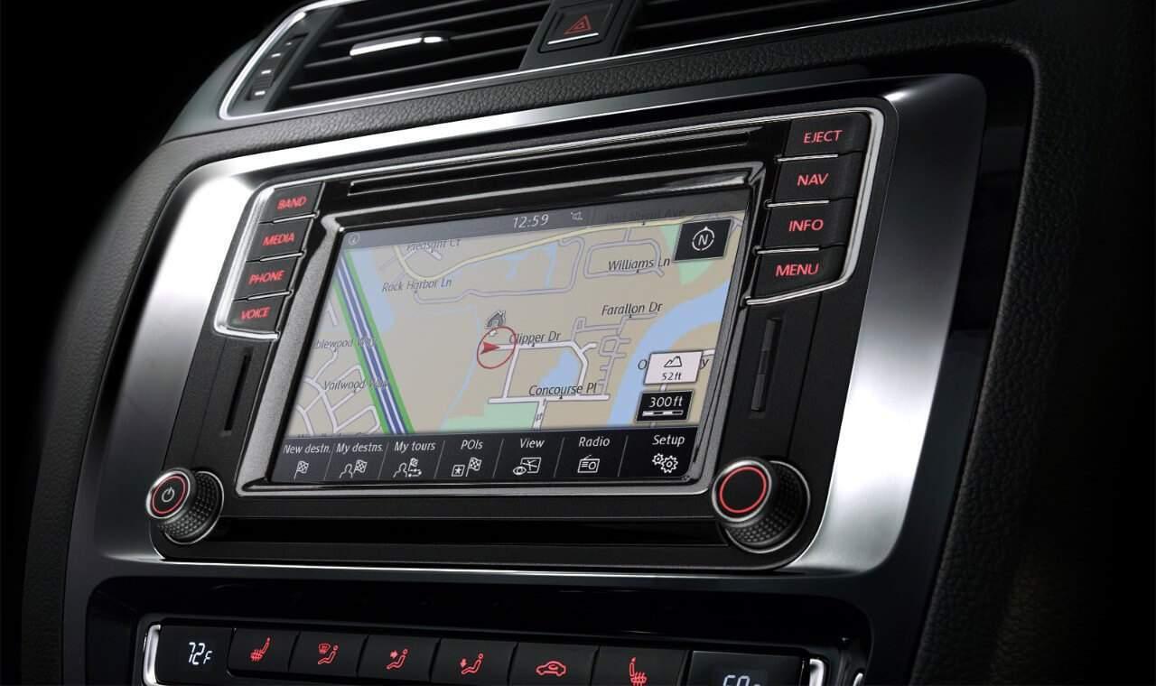 2018 VW Jetta touchscreen