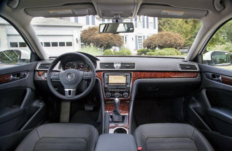 pre-owned Volkswagen Passat interior