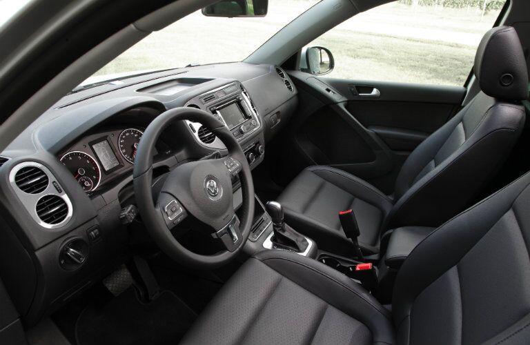 certified pre-owned Volkswagen Tiguan interior features