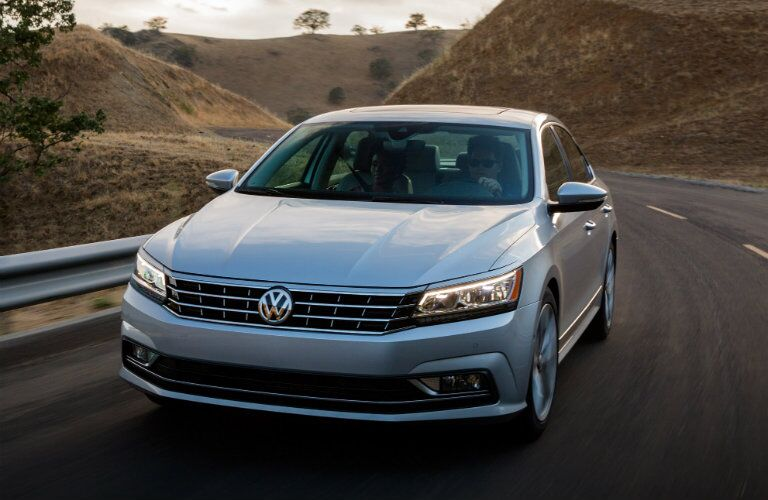 front view of vw passat grille