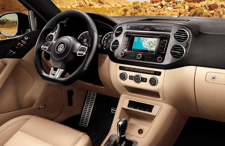 The refined interior of the 2015 Volkswagen Tiguan Rockaway NJ