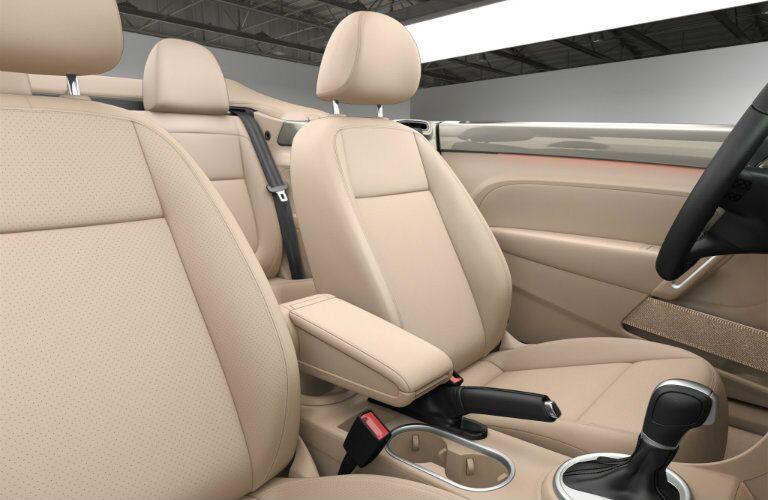 2016 Volkswagen Beetle Convertible Beige Interior
