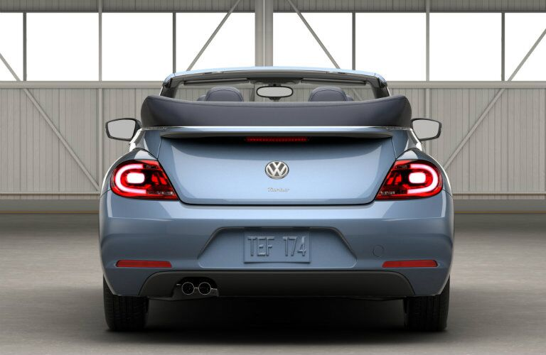 rear design features 2016 vw beetle denim