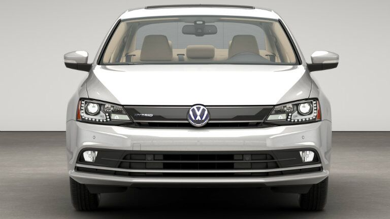 front bumper grille design on the 2016 vw jetta hybrid