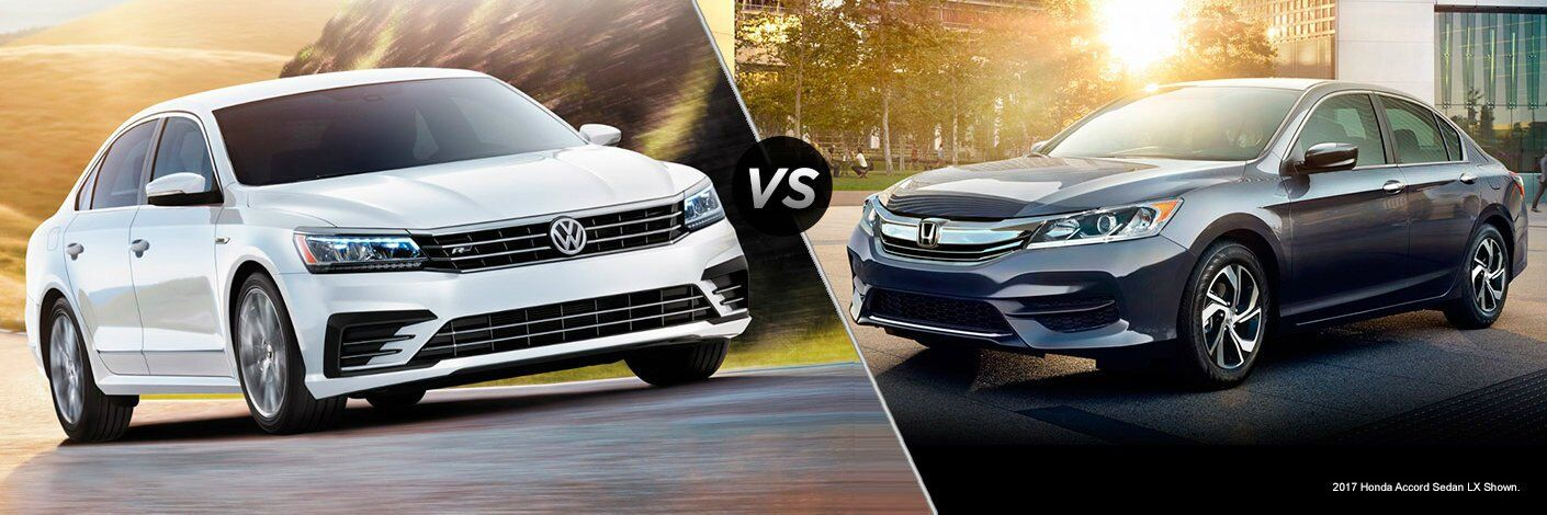 2017 VW Passat vs 2017 Honda Accord