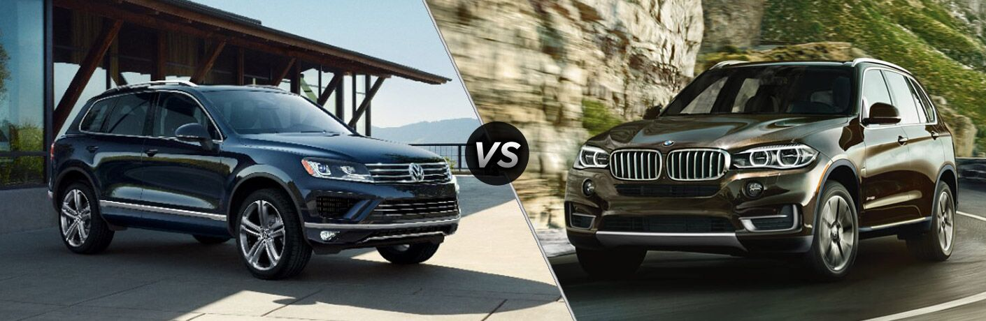 2017 VW Touareg vs 2017 BMW X5