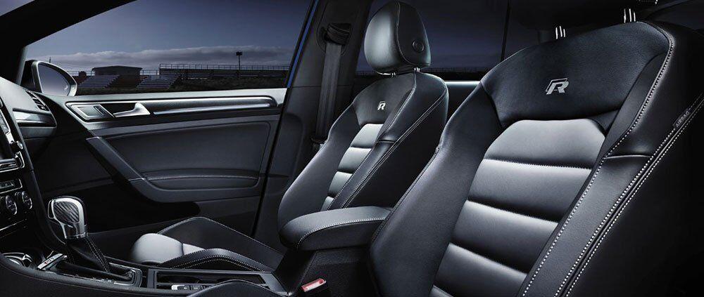 2017 VW Golf R interior header
