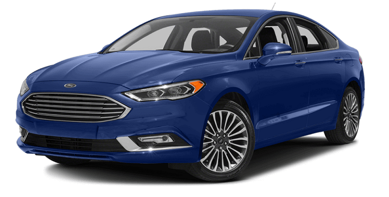 2017 Ford Fusion Blue