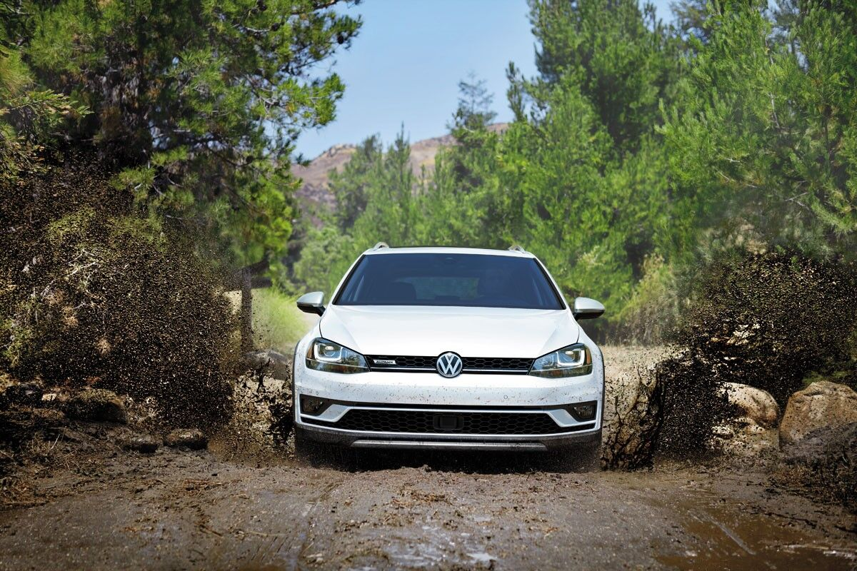 2017 Volkswagen Golf Alltrack performance