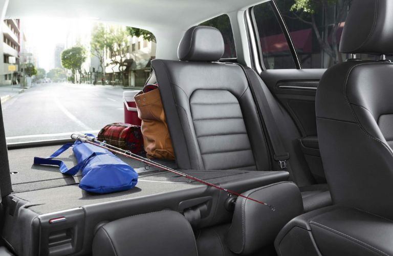 2017 vw golf sportwagen interior cargo space