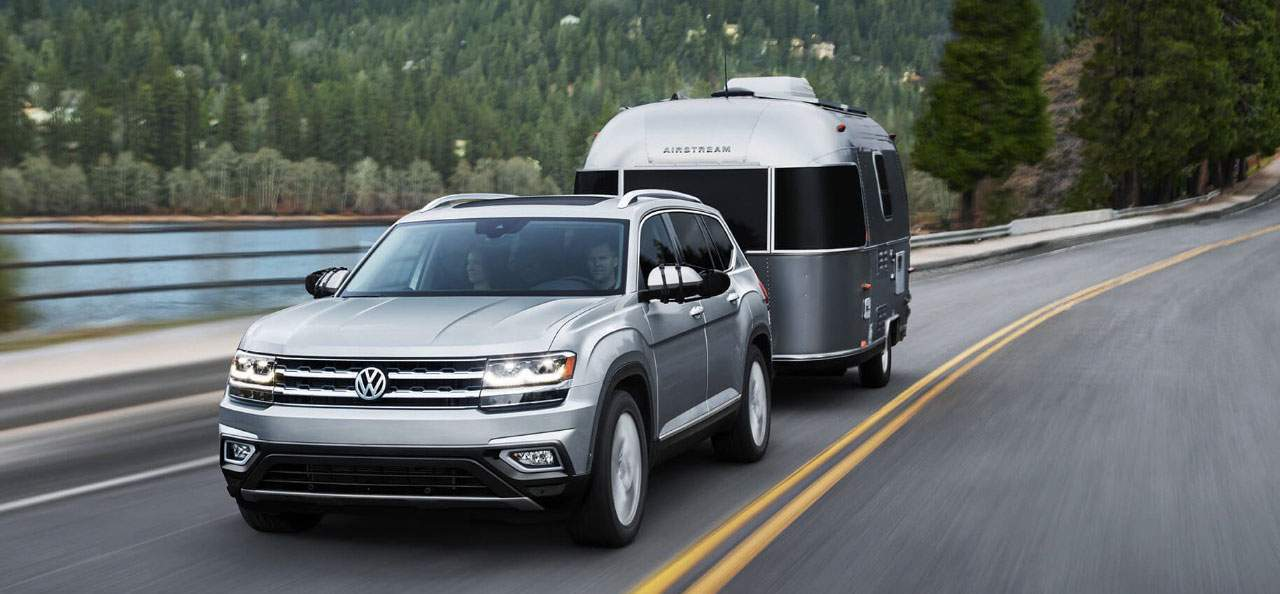 2018 Volkswagen Atlas exterior features
