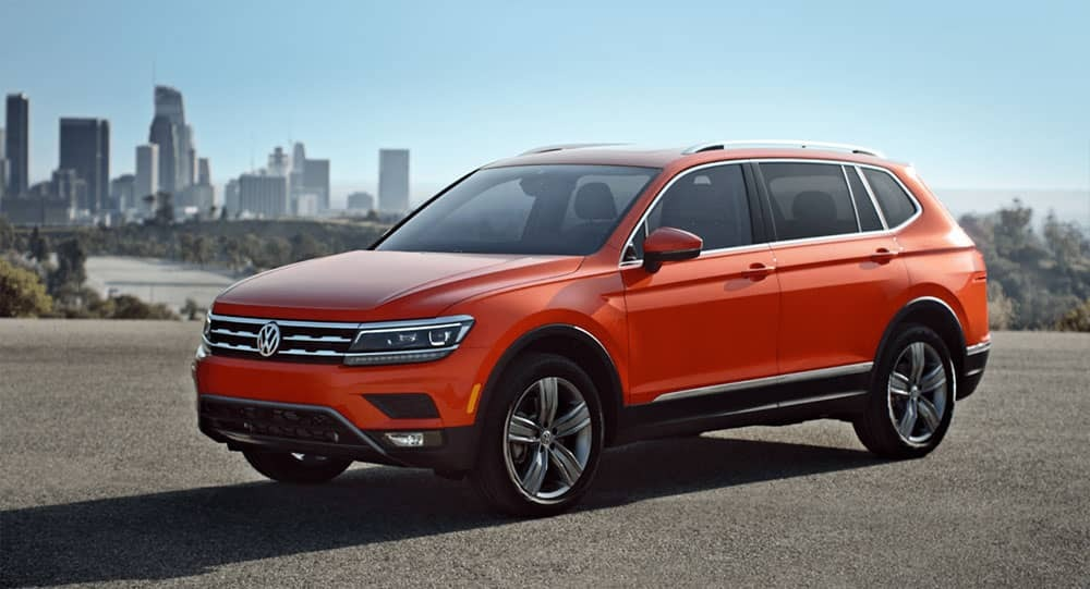 2018 Tiguan in the city