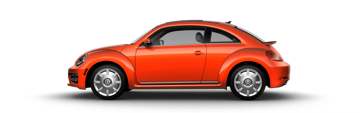 2018 Volkswagen Beetle Habanero Orange