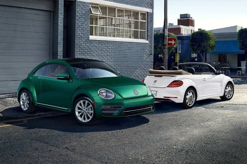 2018 Volkswagen Beetle trims
