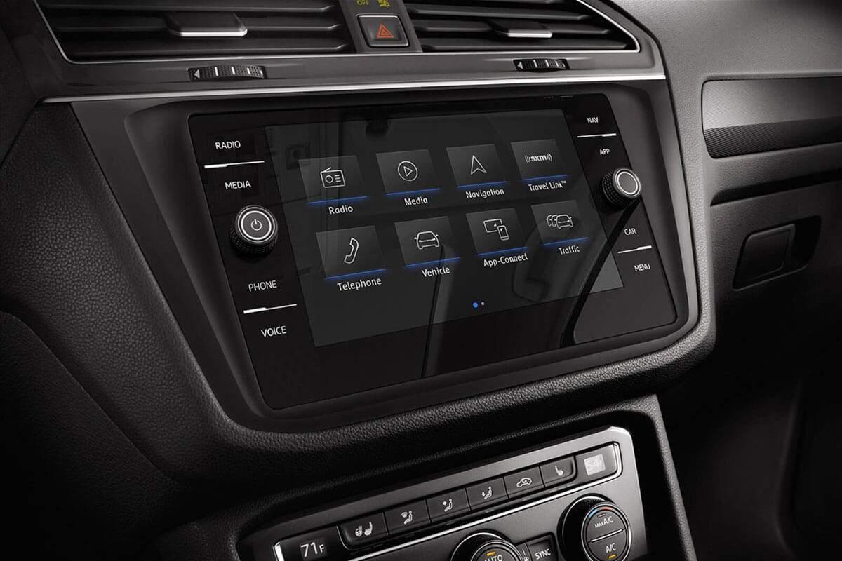 2018 Volkswagen Tiguan Navigation System