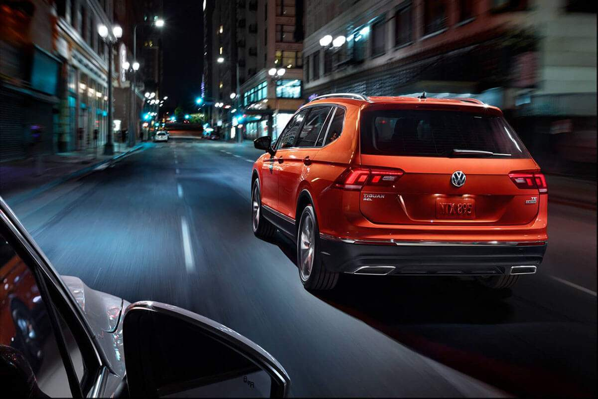 2018 Volkswagen Tiguan highlights