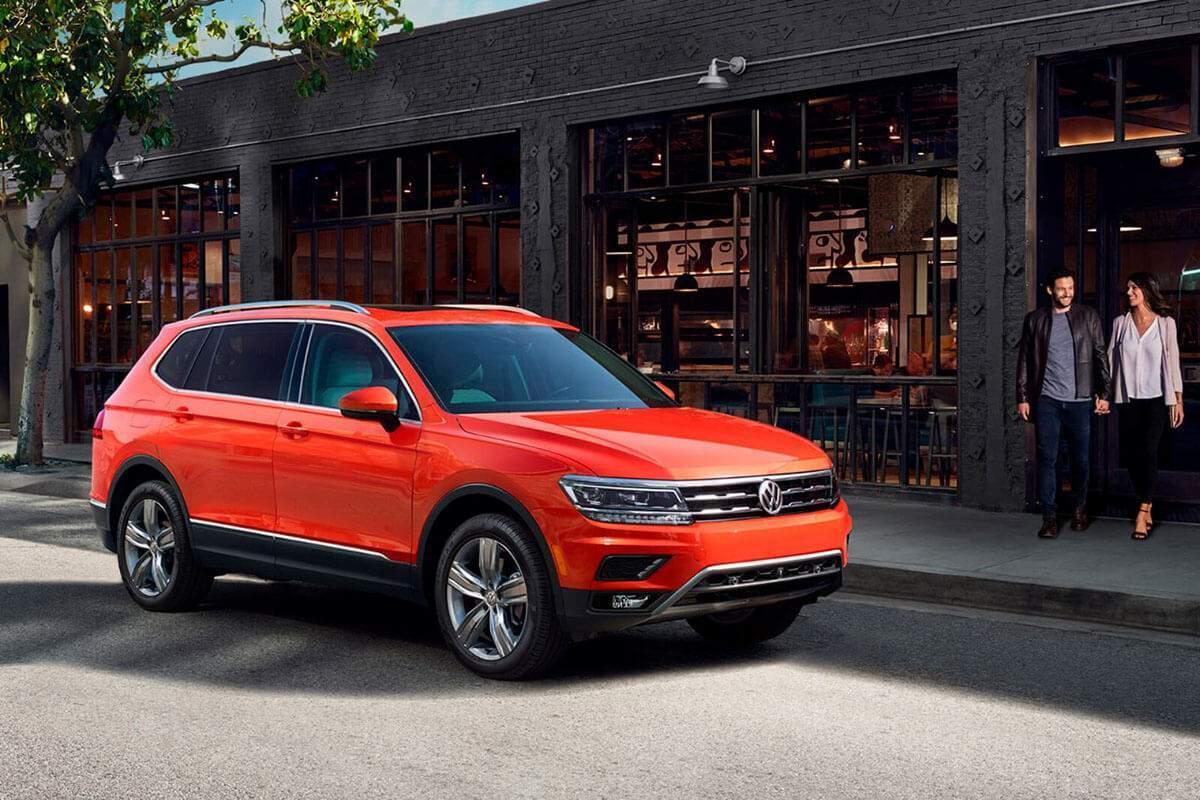 2018 Volkswagen Tiguan 4MOTION in Habanero Orange
