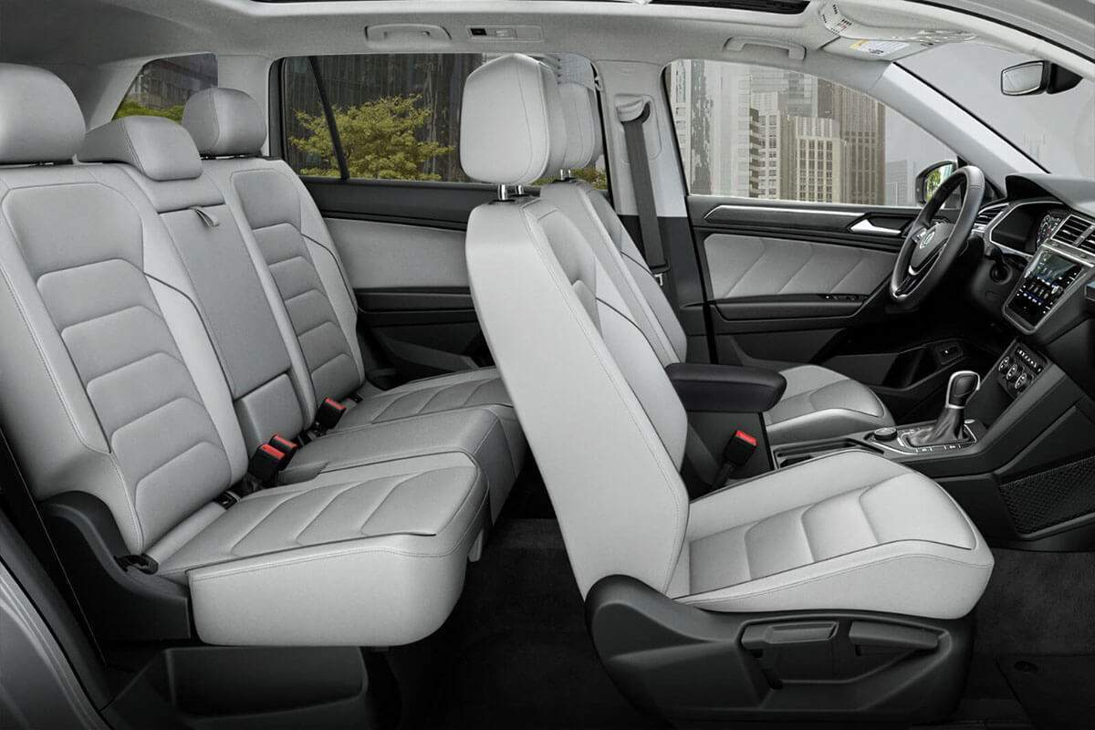 2018 Volkswagen Tiguan seating