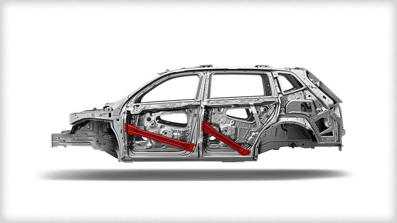2018 Volkswagen Tiguan safety cage