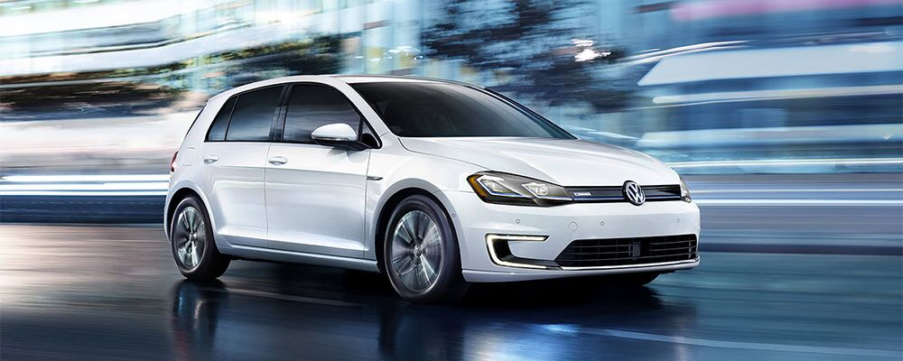 2018 Volkswagen e-Golf header