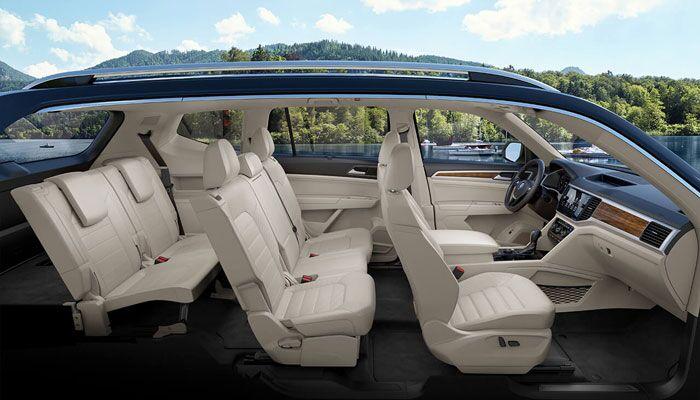 2019 Volkswagen Atlas Interior Side View