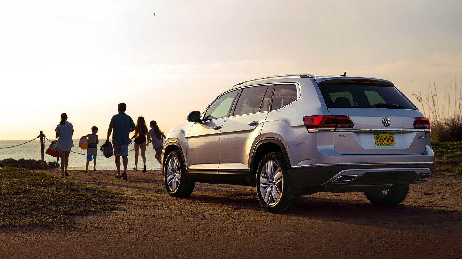 2019 Volkswagen Atlas on Beach