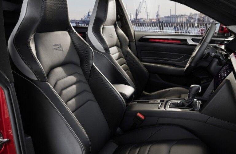 Grey front seats in 2021 Volkswagen Arteon