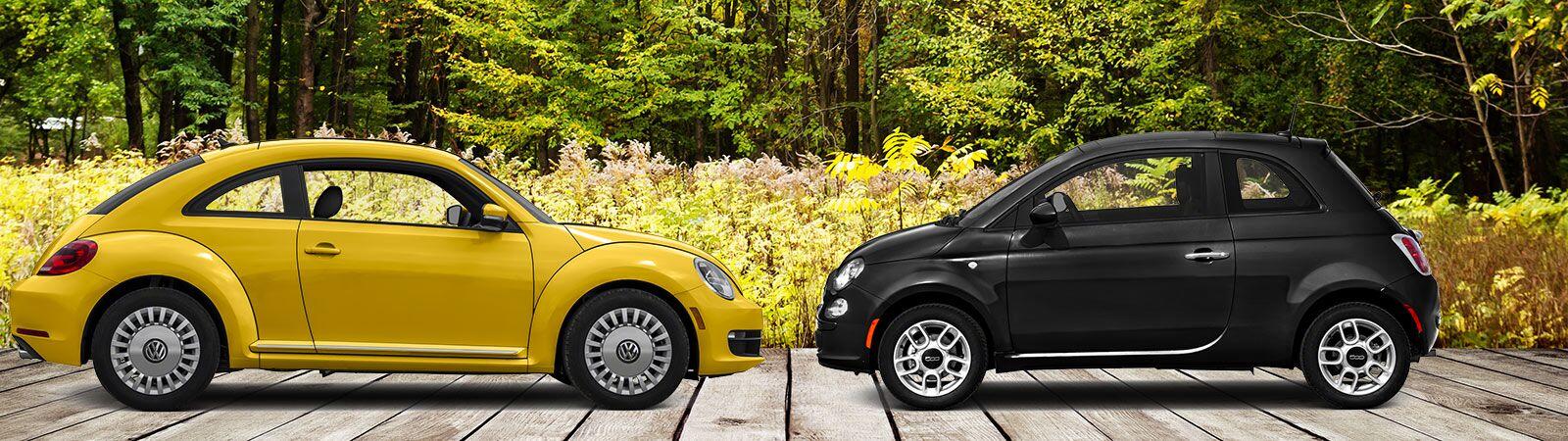 2017 Volkswagen Beetle vs 2016 Fiat 500