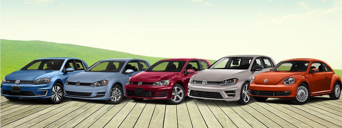 Volkswagen Compact Car Lineup
