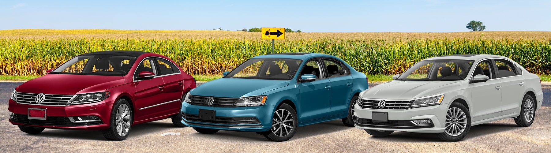 Volkswagen Sedans: the CC, Jetta, and Passat