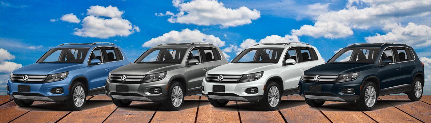 2017 Volkswagen Tiguan Trim levels