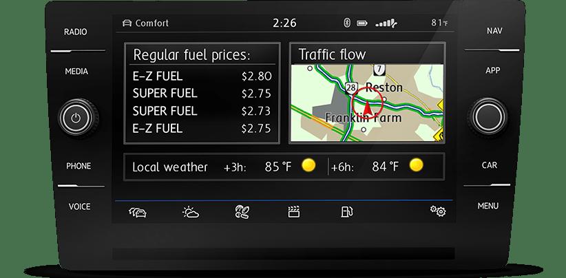 VW Car-Net® Navigation