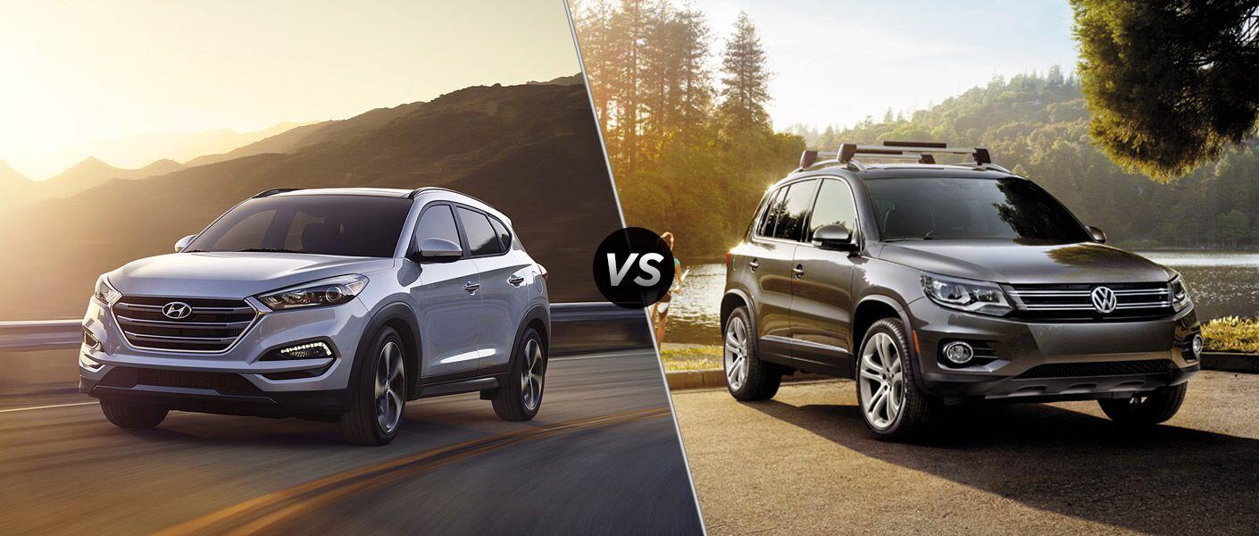 2016 Volkswagen Tiguan vs 2016 Hyundai Tucson